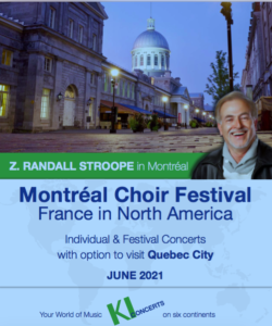 Montreal Choir Festival, France in North America